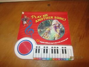 Piano Musical Book and Spin and Spell Book
