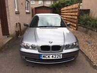 BMW 316ti ES Compact, 2003, auto, full MOT+ FSH 4 New Avon Tyres Climate