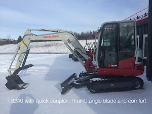 2015 Left over 4 ton excavator power angle blade $875.17 / month