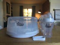 Tonnes Tippee Ultra bottles & Microwave Steraliser