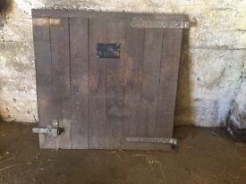 3 X heavy duty stable doors