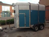 Ifor Williams HB505R horse box trailer