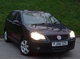 2008 08 Volkswagen Polo 1.2 ( 70PS ) 5DR Match
