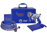 Spray Tanning Booth & Fuji HVLP spray unit both available today for delivery & installation