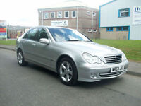 Mercedes-Benz C220 2.1TD auto 2006MY CDI Avantgarde SE WITH 12 SERVICE STAMPS