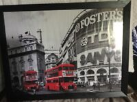 Large framed Piccadilly Circus print