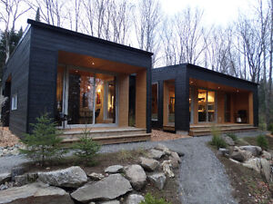 Contemporary house with studio (Waterfront) Mont-Tremblant area