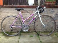 Emmelle Diamond Ladies Vintage Retro Road Bike 20 Inch Frame 12 Speed Excellent Condition