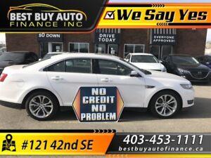 2013 Ford Taurus SEL AWD  ecoboost $79/Bi-weekly