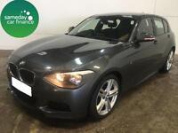£232.77 PER MONTH GREY 2013 BMW 116D 2.0 SPORT 5 DOOR DIESEL MANUAL
