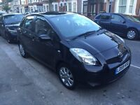 Toyota Yaris Auto,2009, Black, 50,000 miles. Excellent condition