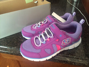 New Skechers for school aged girl size 4
