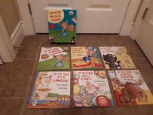 Hard Cover Fun with Mouse and Friends Book Set Like New