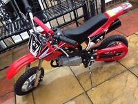 Mini Dirk Bike BRAND NEW 50cc Hawk Moto £175 No Offers