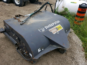 2009 sweepster skid steer attachment