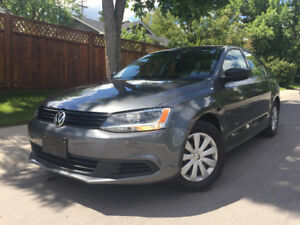 2013 Jetta VERY LOS KMS, NEW TIRES, NEW BRAKES, NEW CLUTCH!