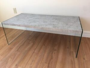 Grey Marble Style Table