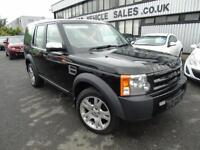 2007 Land Rover Discovery 3 2.7TD V6 GS - Black - 12 months MOT + 6 Speed!