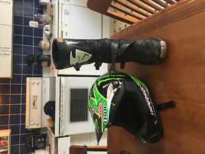 Thor Brand new thor helmet and size 12 thor boots realy cheap !!