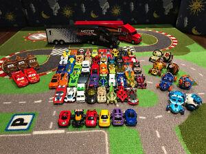 Lot of Cars + Mat