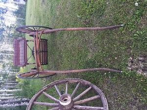 1920's Restored Antique Single Horse Cart