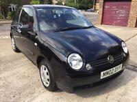 2002 Volkswagen Lupo 1.0E Black, New Mot. FSH, Cheap Insurance
