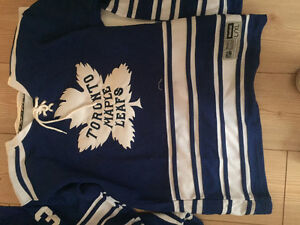 BRAND NEW LEAFS JERSEY AND GERMAN WORLD CUP JERSEY