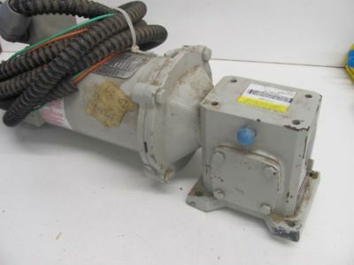 Used Boston Gear F71350b56 W Baldor Cdp3310 14hp 1750rpm 2.5a