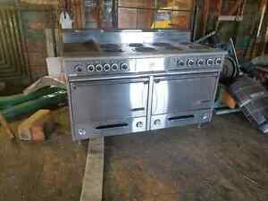 Electric industrial stove