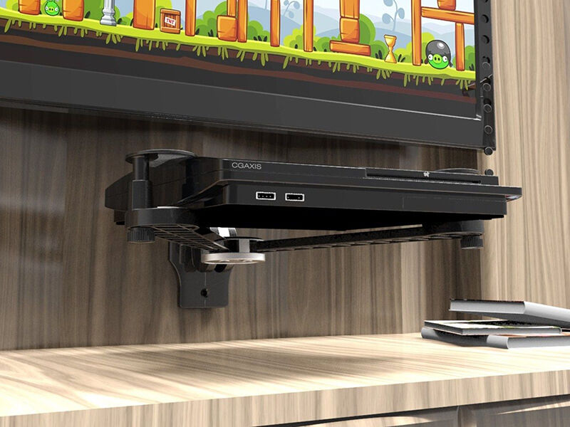 How To Mount A Dvd Player On The Wall