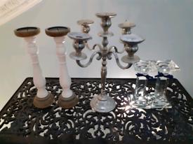 Candlelabra set - £10