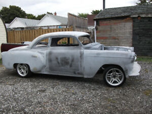 1953 Chev, Coupe a project