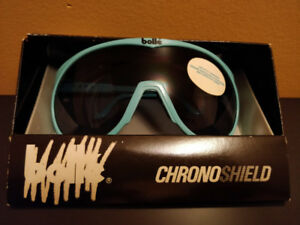 Vintage BOLLE CHRONO SHIELD Sunglasses