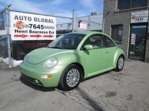 Volkswagen New Beetle  GLS, 2 PORTE, MANUEL, A/C, TRÈS PROPRE! 2