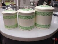 3 Laura Ashley Jars