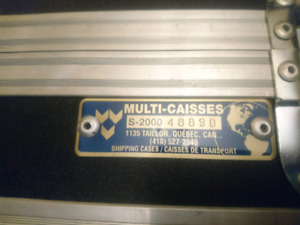 MULTI-CAISSES S-200 Transport Case , Shipping Case, Road Case