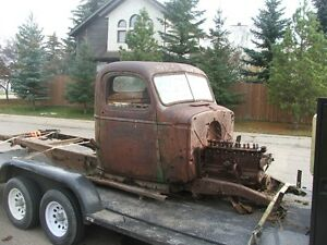 1942 chev truck cab and frame only