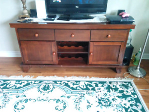 Wine Hutch/entertainment stand