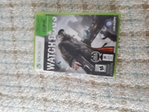 Xbox 360 Watch dogs for sale