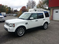 2011 Land Rover LR4 LUXE HSE CARPROOF CLEAN