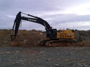 450 DLC John Deere Excavator