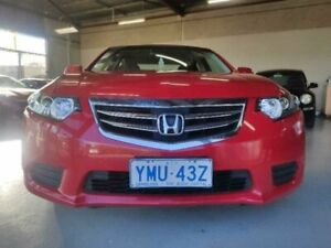 2012 Honda Accord 10 MY12 Euro Red 5 Speed Automatic Sedan Mitchell Gungahlin Area Preview