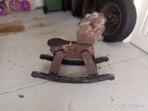 Vintage Rocking Horse - in need of restoration