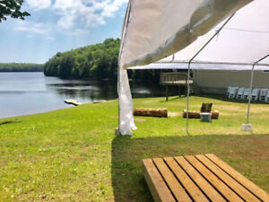 Rentals for tents and parties.. Book today!