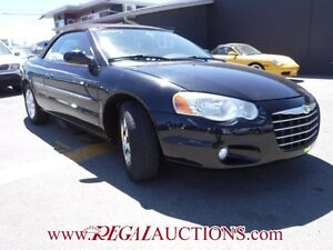 2004 CHRYSLER SEBRING LIMITED 2D CONVERTIBLE LIMITED