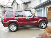 2003 Jeep Liberty Leather SUV, Crossover