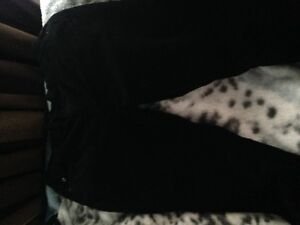 Black Soft Cordorouy Pants  Only worn once! :)