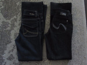 """Ladies Jeans - Assortment - Size 4,5, 5/6, 26"""",,28"""" Like new/New"""