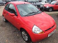 2004/54 Ford Ka 1.3 Collection LONG MOT LOW MILEAGE EXCELLENT RUNNER