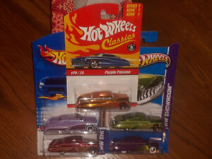 5 PURPLE PASSION - Older Hot Wheels Diecast toy cars